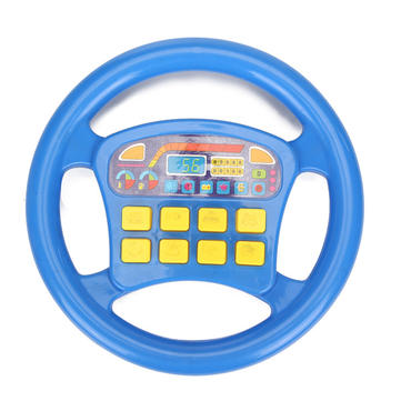 Baby Children Artificial Steering Wheel Toy Electronic Educational Instrument