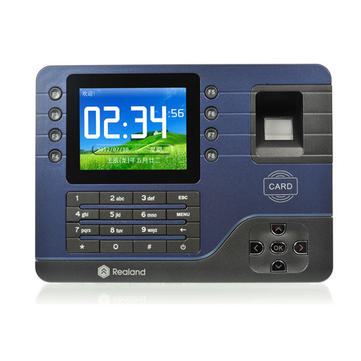 Buy Realand A-C091 3.2'' TCP/IP Biometric Fingerprint Time Clock Record Attendance for $141.56 in Banggood store