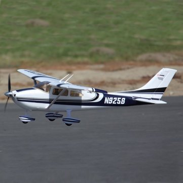 FMS Sky Trainer 182 V2 5CH Blue 1410mm Wingspan PNP