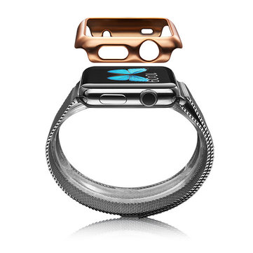 38mm 42mm Shiny Plating PC Series protection cas protection Shell pour Apple Watch