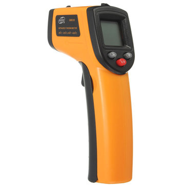BENETECH GM320 Non-Contact Laser LCD Display Digital IR Infrared Thermometer Temperature Meter Gun -50℃ to 330℃